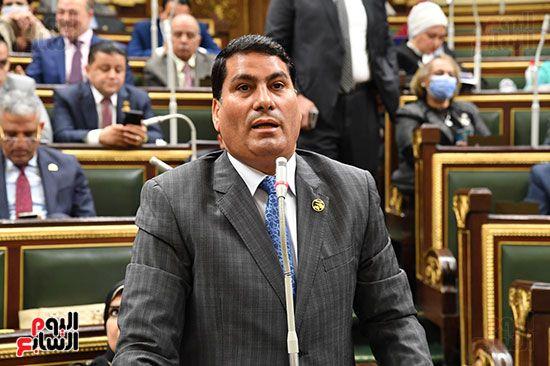 جلسة مجلس النواب برئاسة المستشار الدكتور حنفي جبالي (22)