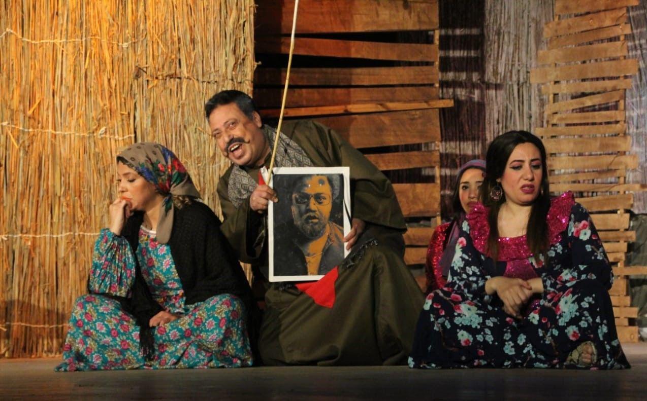 مسرحية من 15 سنة لفرقة السامر للمخرج عمرو حسان