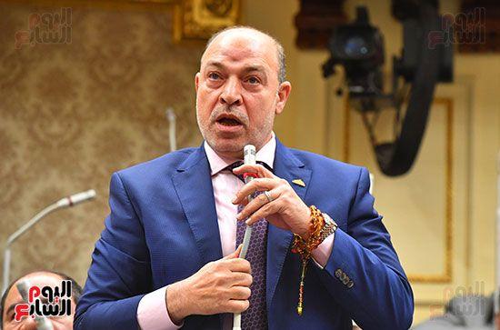 جلسة مجلس النواب برئاسة المستشار الدكتور حنفي جبالي (30)
