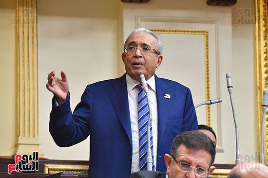 جلسة مجلس النواب برئاسة المستشار الدكتور حنفي جبالي (6)