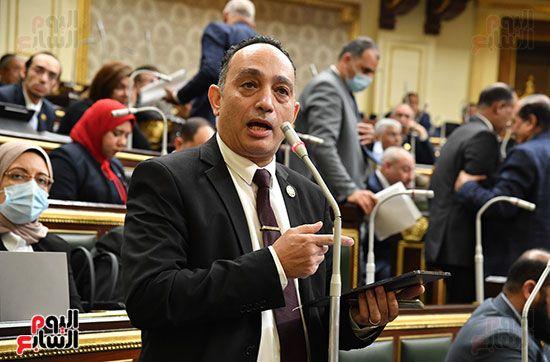 جلسة مجلس النواب برئاسة المستشار الدكتور حنفي جبالي (19)