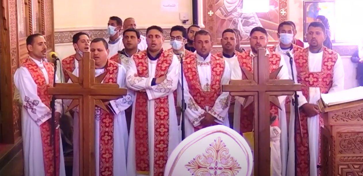 قداس شهداء ليبيا (2)