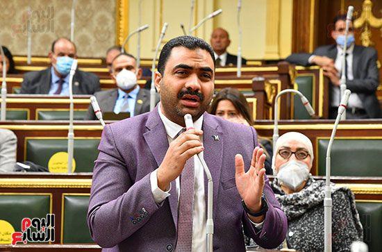 جلسة مجلس النواب برئاسة المستشار الدكتور حنفي جبالي (20)