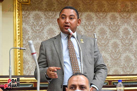 جلسة مجلس النواب برئاسة المستشار الدكتور حنفي جبالي (25)