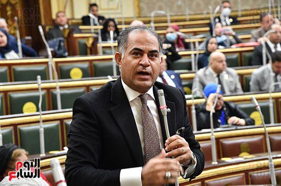 جلسة مجلس النواب برئاسة المستشار الدكتور حنفي جبالي (21)