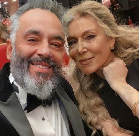 رامى جمال وزوجته