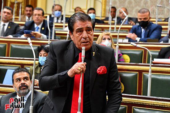 جلسة مجلس النواب برئاسة المستشار الدكتور حنفي جبالي (29)