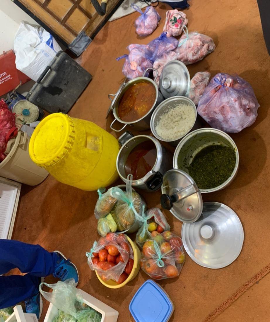 أدوات تالفة تستخدم في طهي الطعام ب أحد رفيدة