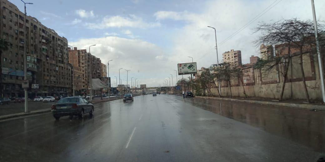 مياه الأمطار بشوارع القليوبية