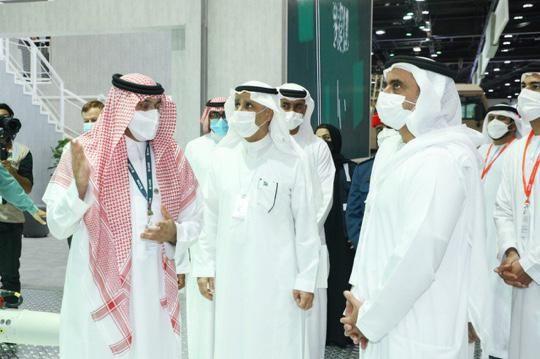 إقبال دولي على الجناح السعودي في معرض آيدكس 2021 - المواطن