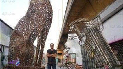 أكبر تمثال لحورس