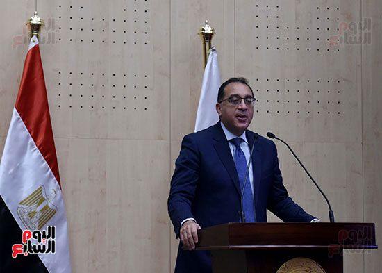 رئيس الوزراء يزور مقر النائب العام لمتابعة جهود التحول الرقمى (22)