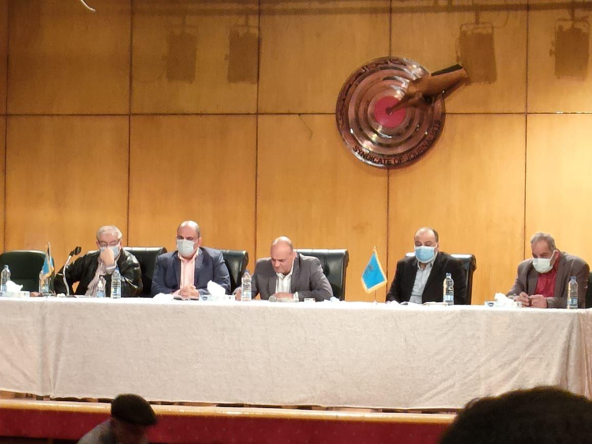 اجتماع اللجنة المشرفة على انتخابات نقابة الصحفيين (2)