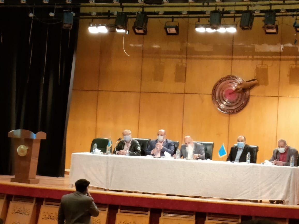 اجتماع اللجنة المشرفة على انتخابات نقابة الصحفيين (4)
