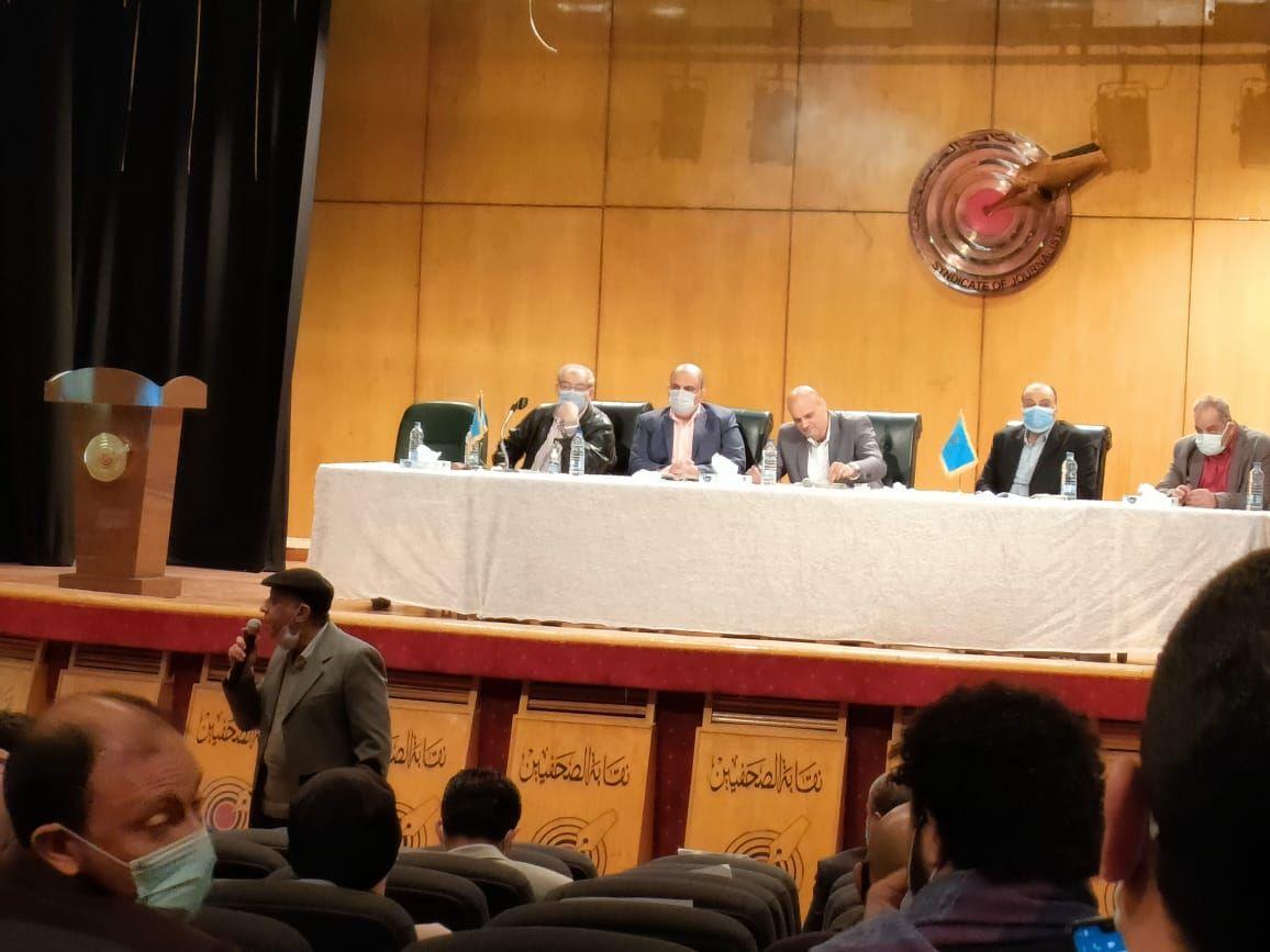 اجتماع اللجنة المشرفة على انتخابات نقابة الصحفيين (1)
