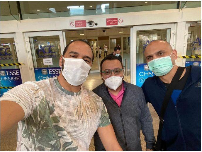 استقبال هتلر فى مطار دبى