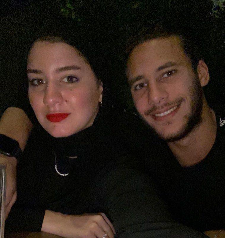 رمضان صبحى وزوجته حبيبة إكرامى