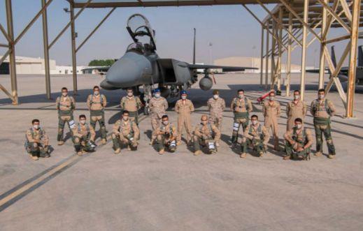 القوات الجوية السعودية تصل الامارات