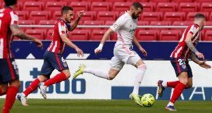 بنزيمة يُنقذ ريال مدريد من الخسارة ضد الأتلتيكو