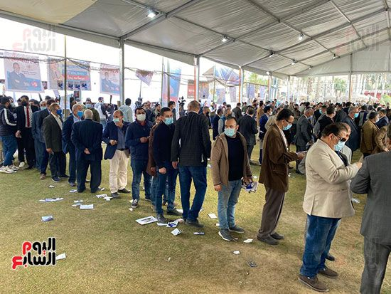 انتخابات التجديد النصفى لنقابة الصحفيين (1)