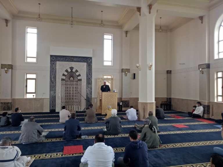 افتتاح أحد المساجد بالجيزة