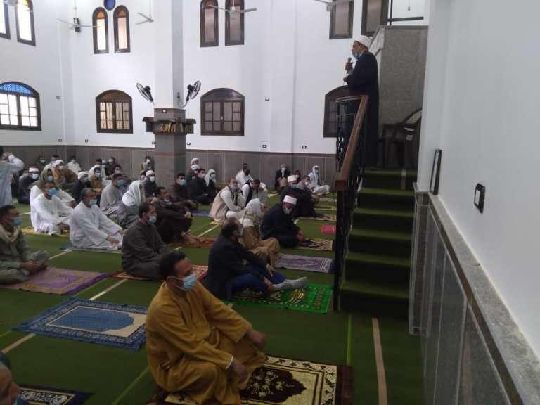 أحد المساجد المفتتحة اليوم