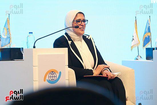 الدكتورة هالة زايد وزيرة الصحة (5)