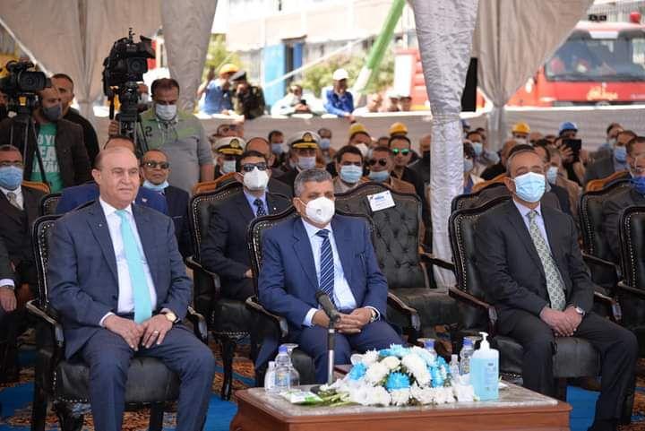 حفل تدشين الكراكة مهاب مميش (8)