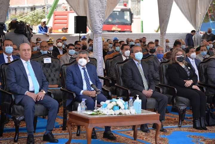 حفل تدشين الكراكة مهاب مميش (9)