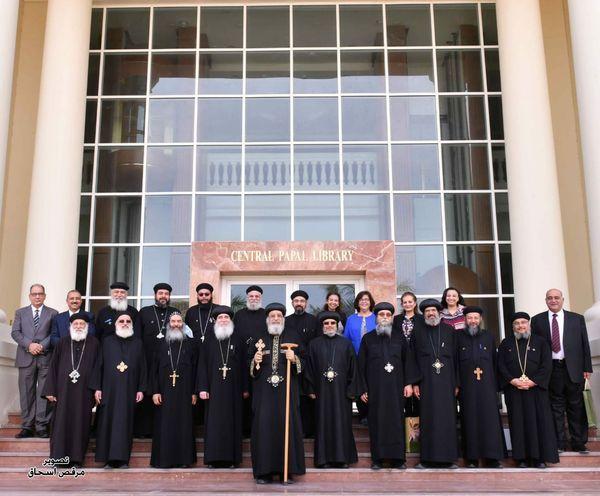 قداسة البابا تواضروس يلتقى المجالس الإقليمية للأحوال الشخصية بمصر وأفريقيا