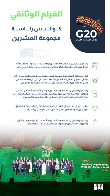 جهود شباب المملكة في قمة العشرين يوثقها كواليس رئاسة مجموعة العشرين - المواطن