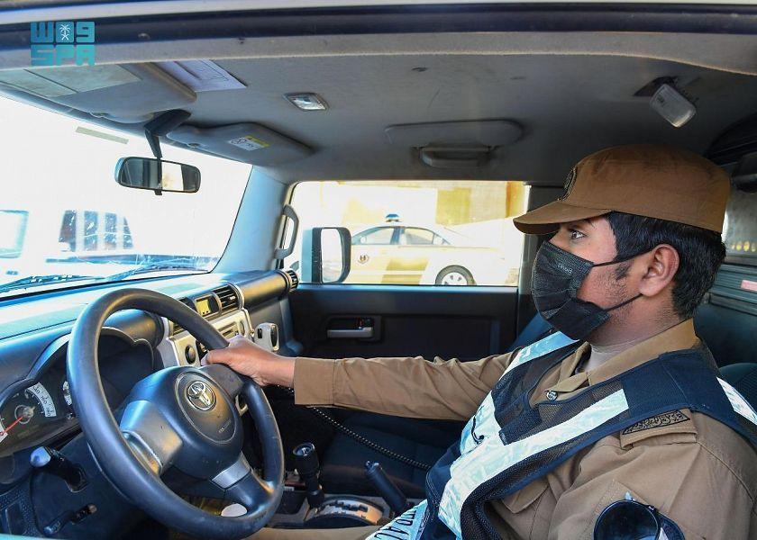 جهود رجال الأمن في الحدود الشمالية خلال شهر رمضان