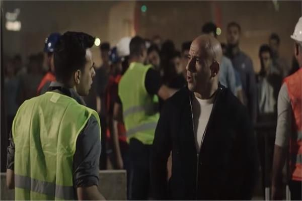 صورة من اعتصام رابعة فى المسلسل