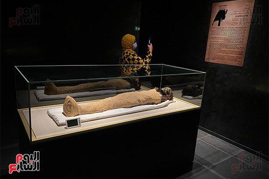 المومياوات الملكية متاحة لاستقبال الزوار بالمتحف القومى للحضارة (4)