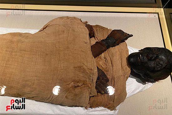 المومياوات الملكية متاحة لاستقبال الزوار بالمتحف القومى للحضارة (10)