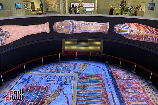 المومياوات الملكية متاحة لاستقبال الزوار بالمتحف القومى للحضارة (26)