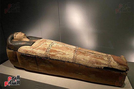 المومياوات الملكية متاحة لاستقبال الزوار بالمتحف القومى للحضارة (15)
