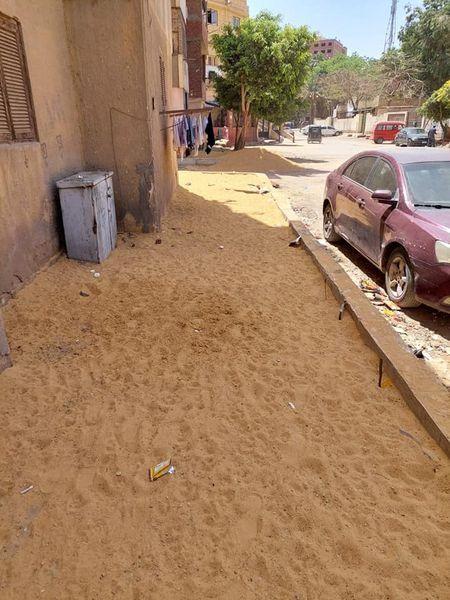 رصف الشوارع الفرعية بأحياء القاهرة (2)