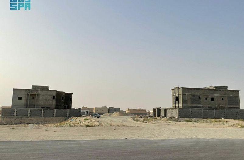 مخطط أنوار الخليج يوفر 530 قطعة أرض سكينة بالنعيرية