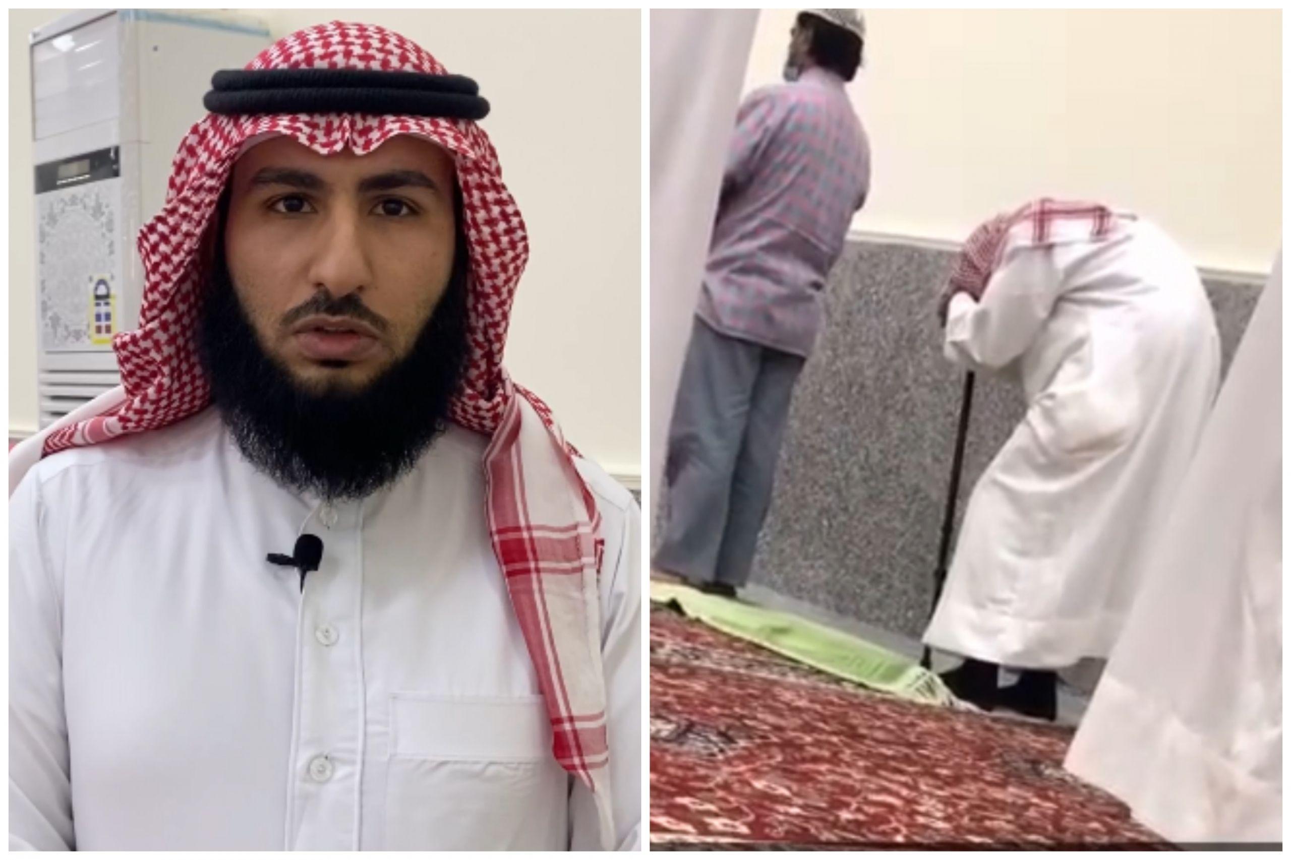 عبد الله يشكف قصة مقطع والده في الجامع