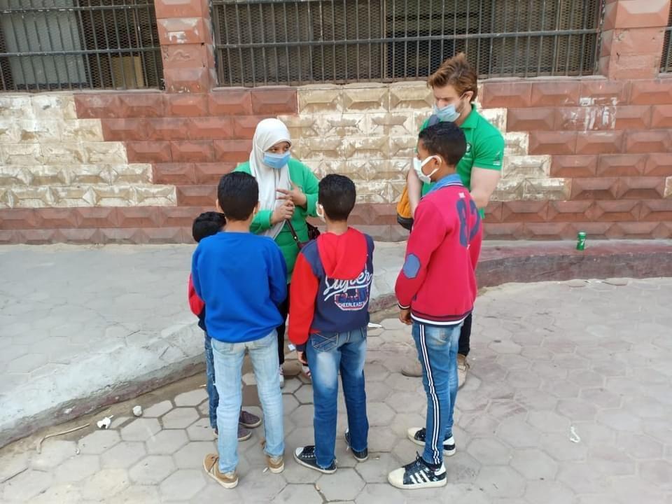 فريق أطفال وكبار بلا مأوى ينقذ 6 أطفال بالقاهرة (4)