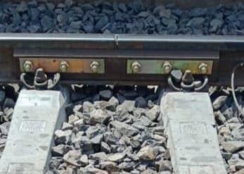 الشكل النهائى لقضبان السكة الحديد
