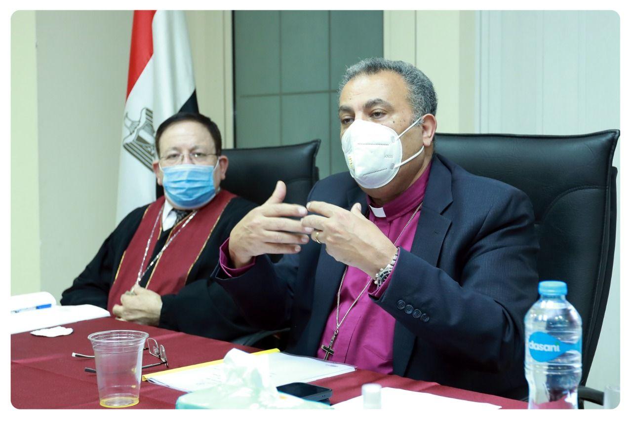 الدكتور القس أندريه زكي، رئيس الطائفة الإنجيلية بمصر، ورئيس هيئة الأوقاف الإنجيلية