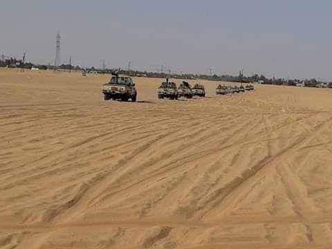 ارسال معدات عسكرية لتأمين الحدود مع تشاد (4)