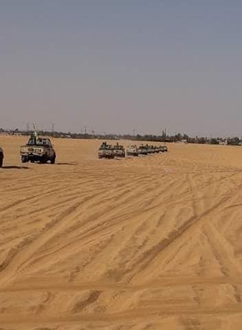 ارسال معدات عسكرية لتأمين الحدود مع تشاد (3)