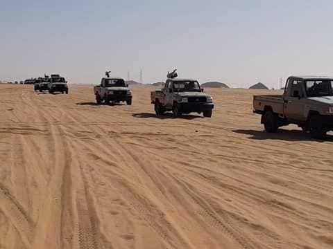 ارسال معدات عسكرية لتأمين الحدود مع تشاد (2)