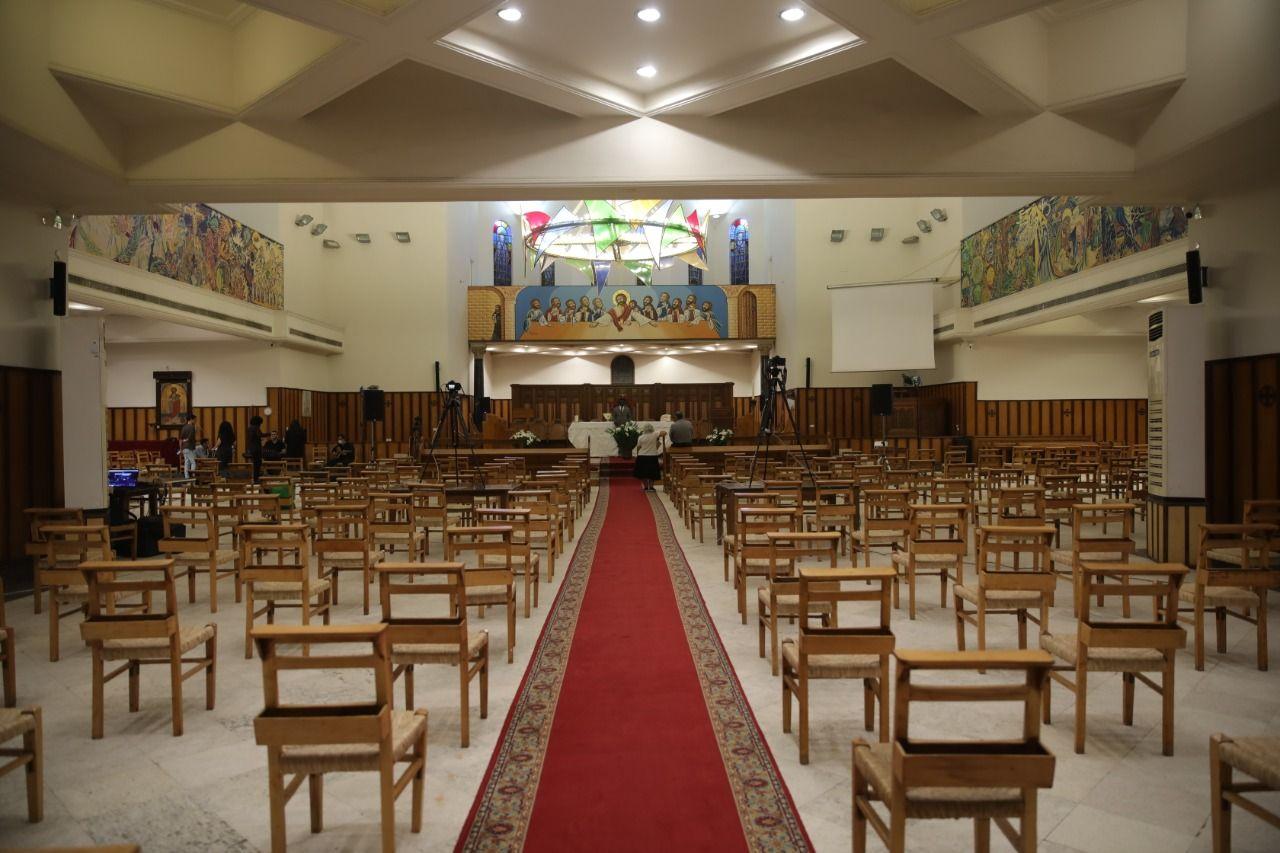 الكاتدرائية تتزين احتفالا بعيد القيامة المجيد