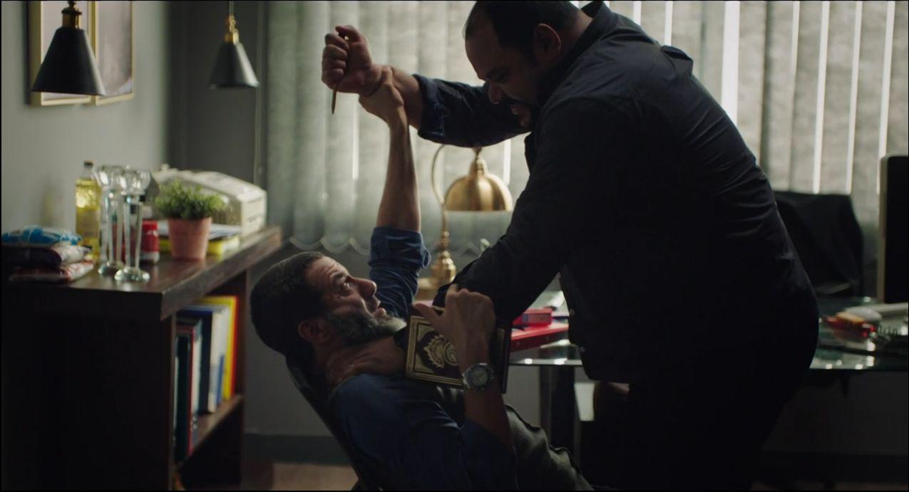محمد ممدوح يحاول قتل محمد فراج