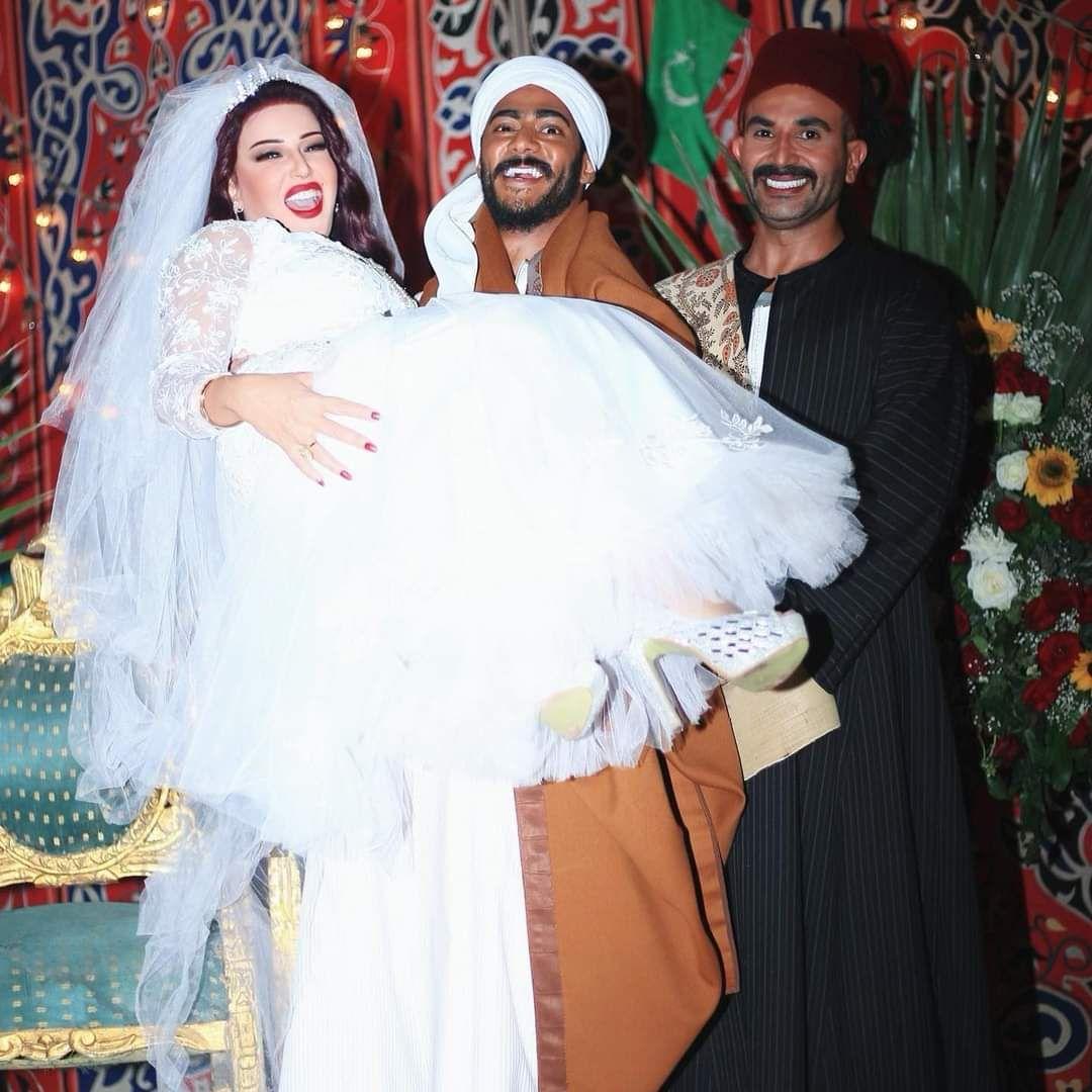 احمدسعد وسمية الخشاب ومحمدرمضان