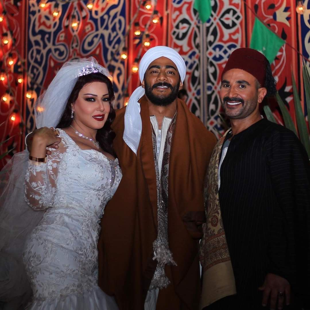 احمدسعد وسمية ومحمد رمضان
